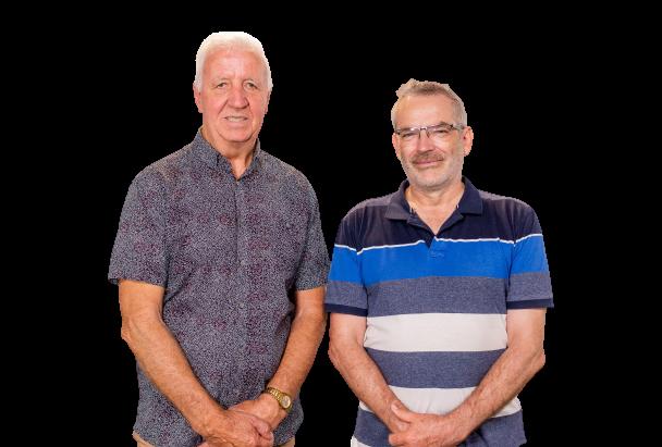 Graeme Waller & Russell Jones