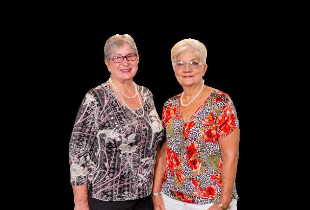 Gina Long & Pat Irvine